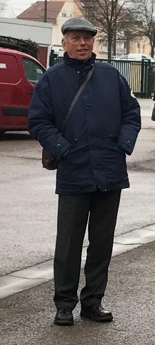 Jean-Marie fin Janvier 2017, à Dijon lors du Congrès national de la Fédération des Acteurs de la Solidarité
